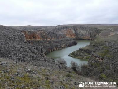 Hoces del Río Duratón-- rutas por españa; excursiones desde madrid de un dia